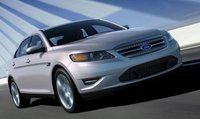 2011 Ford Taurus, front three quarter view , manufacturer, exterior