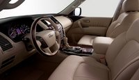 2011 INFINITI QX56, front seat area , interior, manufacturer, gallery_worthy