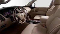2011 Infiniti QX56, front seat area , interior, manufacturer
