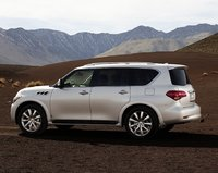 2011 INFINITI QX56, side view , exterior, manufacturer, gallery_worthy