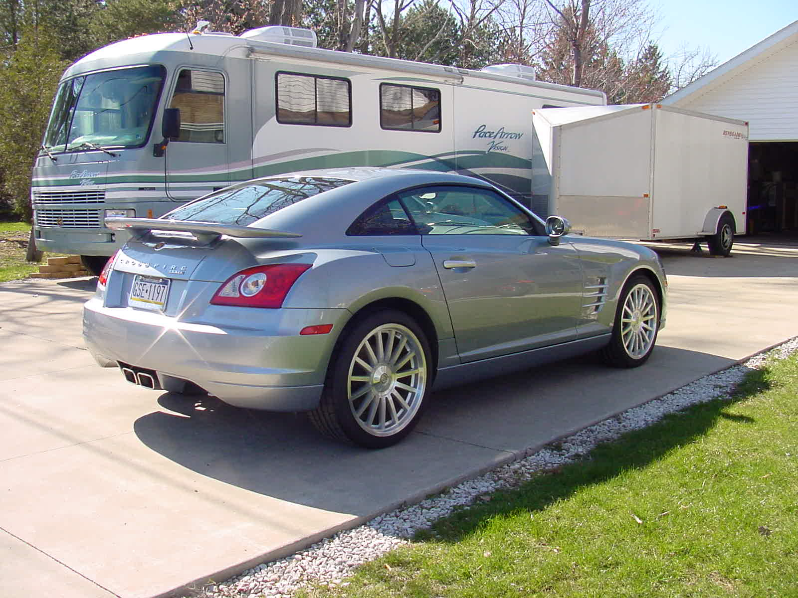 picture of 2005 chrysler crossfire srt 6 2 dr supercharged hatchback. Cars Review. Best American Auto & Cars Review