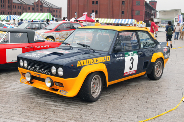 1975 FIAT 131, Fiat 131 Abarth Rally, exterior, gallery_worthy