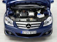 2009 Mercedes-Benz B-Class, Engine View, engine, manufacturer