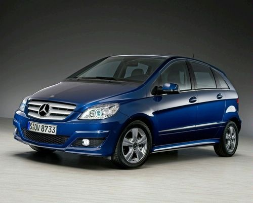 2009 Mercedes-Benz B-Class, Front Left Quarter View, exterior, manufacturer