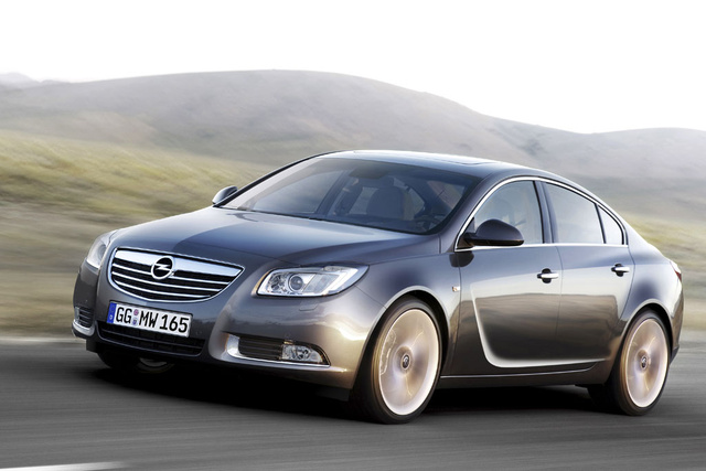 2008 Opel Insignia, Front Left Quarter View, exterior, manufacturer