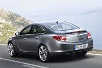 2008 Opel Insignia, Back Left Quarter View, exterior, manufacturer