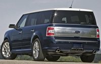 2011 Ford Flex, Back Right Quarter View, exterior, manufacturer