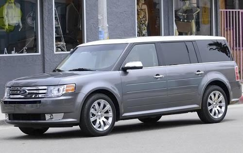 2011 Ford Flex, Front Left Quarter View, exterior, manufacturer