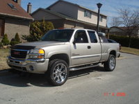 2005 GMC Sierra 2500HD 4 Dr SLE 4WD Extended Cab SB HD, sierra 2005 with 22's, exterior, gallery_worthy