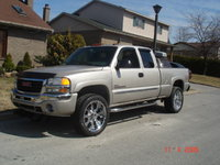 2005 GMC Sierra 2500HD 4 Dr SLE 4WD Extended Cab SB HD, sierra 2005 with 22's, exterior
