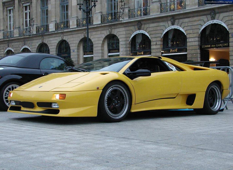 Picture Of 1990 Lamborghini Diablo Exterior