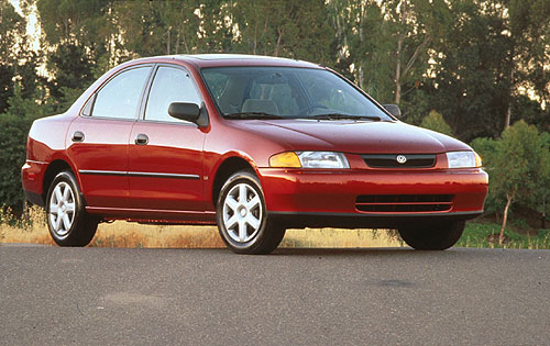 1997 Mazda Protege 4 Dr ES Sedan picture