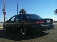 1995 Ford Falcon, Down St Kilda Beach, exterior