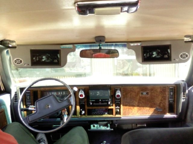 1983 Buick Riviera, 3 Tv's come on thats just the beginning!   (Mac Daddy), interior, gallery_worthy