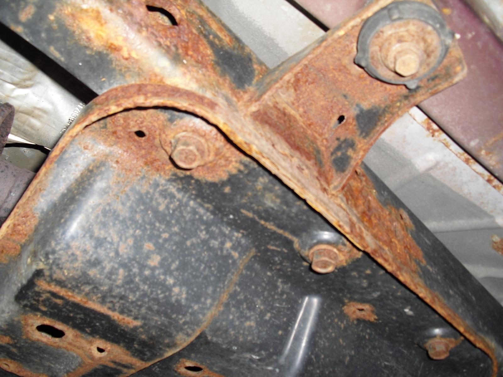 Jeep Wrangler Questions - Rusty Jeep Bottom - CarGurus