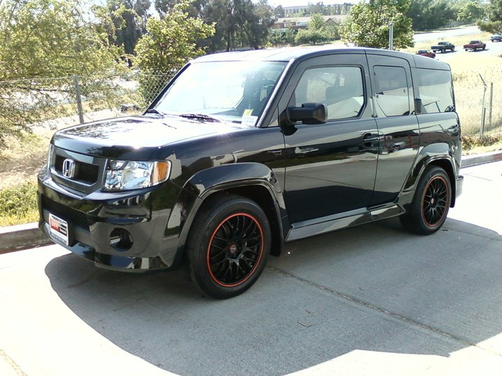2009 Honda Element Interior. 2009 Honda Element SC,
