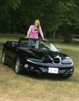 1999 Pontiac Firebird Convertible, Ram Air!, exterior