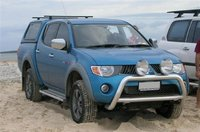 2008 Mitsubishi Triton, Inskip point, first trip on the sand, exterior