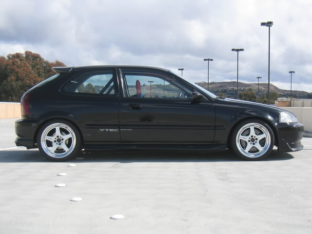 Picture of 1997 Honda Civic DX Hatchback, exterior, gallery_worthy