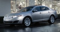 2011 Lincoln MKS, Front-quarter view, exterior, manufacturer, gallery_worthy