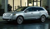 2011 Lincoln MKT, Front-quarter view, exterior, manufacturer