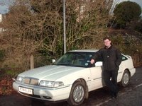 1997 Rover 800, Myself with My lovely 1997 Rover 820i Auto. This pic was taken in mid to late November 2009, exterior