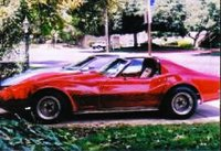 1973 Chevrolet Corvette Coupe, 1973 Corvette Stingray, exterior