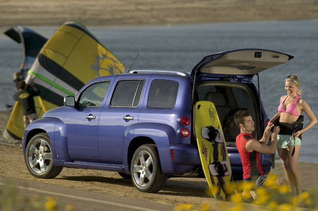2011 Chevrolet HHR, Back Left Quarter View, exterior, manufacturer
