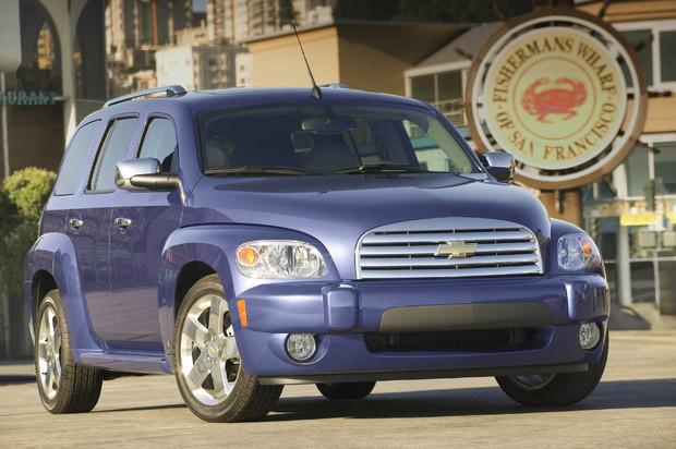 2011 Chevrolet HHR, Front Right Quarter View, exterior, manufacturer