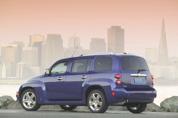 2011 Chevrolet HHR, Back Left Quarter View, manufacturer, exterior