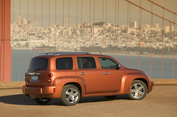 2011 Chevrolet HHR, Back Right Quarter View, manufacturer, exterior
