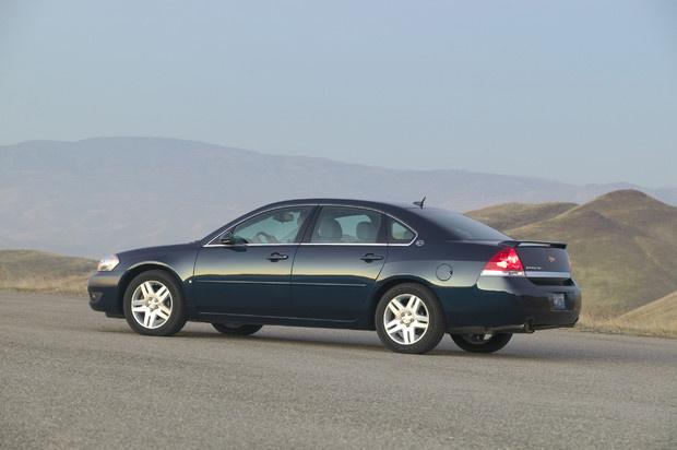 2011 Chevrolet Impala, Left Side View, exterior, manufacturer