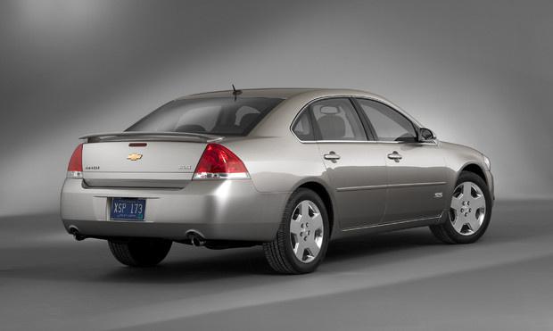 2011 Chevrolet Impala, Back Right Quarter View, exterior, manufacturer
