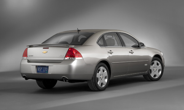 2011 Chevrolet Impala, Back Right Quarter View, manufacturer, exterior