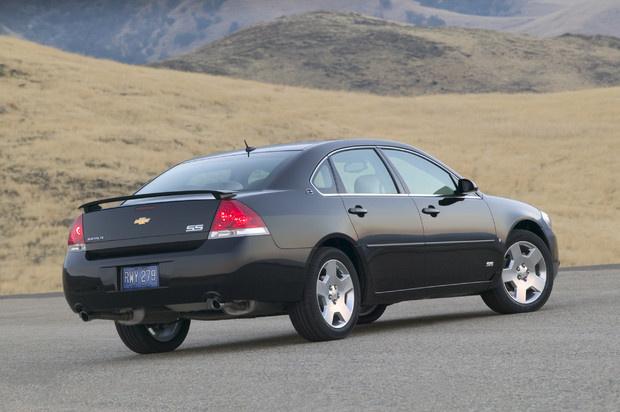 2009 Chevrolet Impala, Back Right Quarter View, exterior, manufacturer