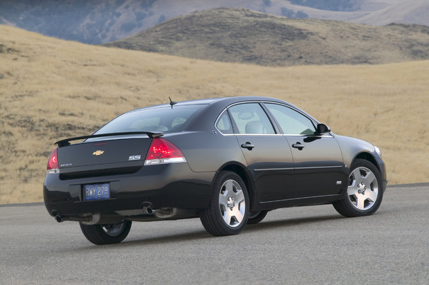 2009 Chevrolet Impala, Back Right Quarter View, manufacturer, exterior