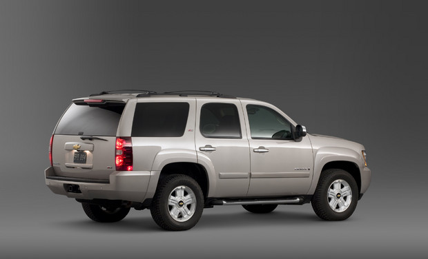 2011 Chevrolet Tahoe, Back Right Quarter View, manufacturer, exterior