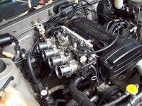 1985 Toyota Sprinter, 20v Black top, engine