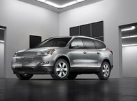 2011 Chevrolet Traverse, Front Left Quarter View, exterior, manufacturer, gallery_worthy