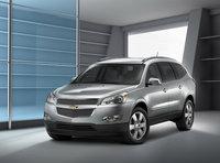2011 Chevrolet Traverse, Front Left Quarter View, exterior, manufacturer