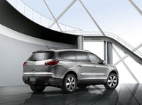 2011 Chevrolet Traverse, Back Right Quarter VIew, exterior, manufacturer