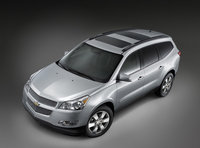2011 Chevrolet Traverse, Front Right Quarter View, manufacturer, exterior