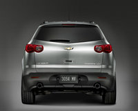 2011 Chevrolet Traverse, Back View, manufacturer, exterior