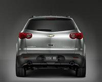 2011 Chevrolet Traverse, Back View, exterior, manufacturer