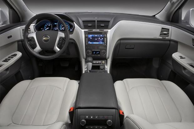2011 Chevrolet Traverse, Interior View, interior, manufacturer
