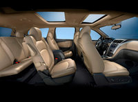 2011 Chevrolet Traverse, Interior View, interior, manufacturer