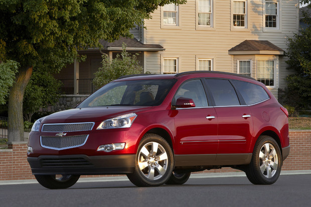 2011 Chevrolet Traverse, Front Left Quarter View, exterior, manufacturer