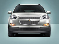 2011 Chevrolet Traverse, Front View, exterior, manufacturer
