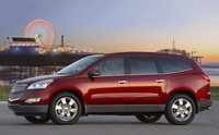 2011 Chevrolet Traverse, Left Side View, manufacturer, exterior