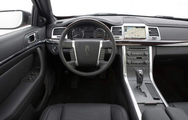 2011 Lincoln MKS, Interior View, interior, manufacturer